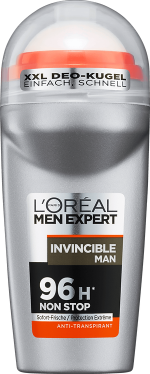 L'ORÉAL Men Expert Deodorant Roll On Antiperspirant Invincible Man, 50 ml