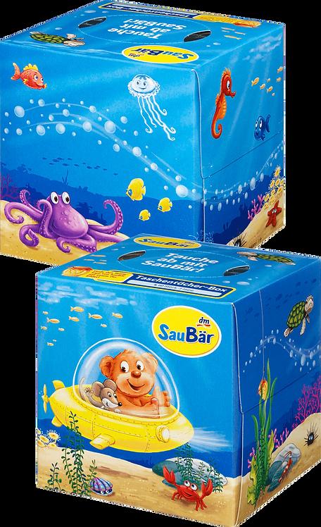 Children & Kids Handkerchiefs Box Kids, 240 sheets 4 Boxes