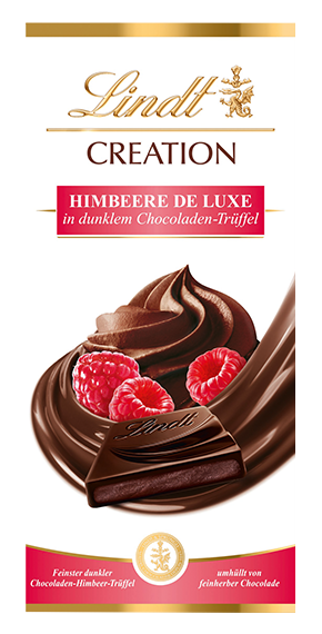 LINDT PREMIUM CREATION RASPBERRY DELUXE, 150g