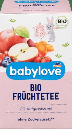 5 Boxes of Baby Organic fruit tea, 40 g