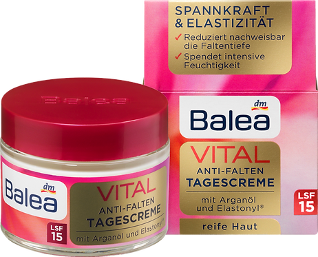 VITAL Anti-Wrinkle Day Care Cream, 50 ml