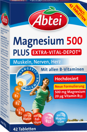 Magnesium 500 Plus Vital Depot tablets 42 pieces, 64 g