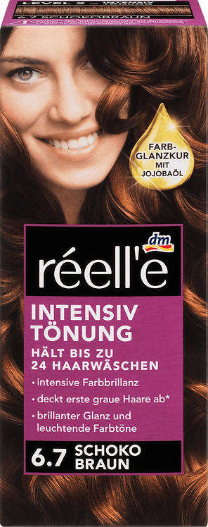 réell'e Intense tint chocolate brown 6.7, 1 pc, 1 pc