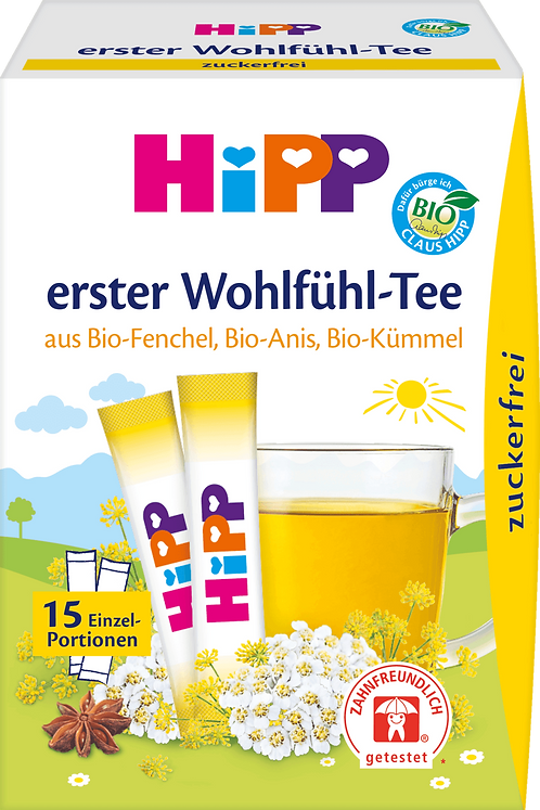 HiPP Baby Tea First Feel-Good Tea, 15x0.36g, 5.4 g