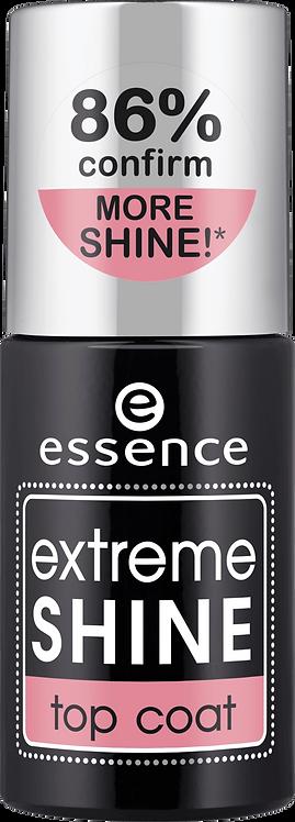 essence cosmetics Nail overcoat extreme shine top coat transparent, 8 ml