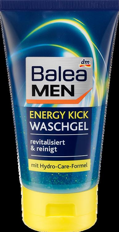 Men Wash Gel Energy Kick, 150 ml