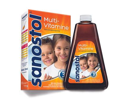 Sanostol Children's Multivitamin Syrup Vitamins A, B6, C, 460 ml
