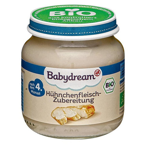 Babydream Organic chicken preparation 125 g