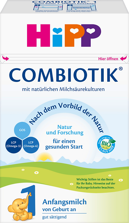 Initial Milk Stage 1 Bio Combiotik from Birth, 600 g