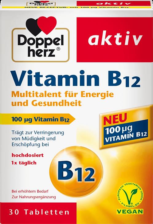 Vitamin B12 Tablets, 30 pcs