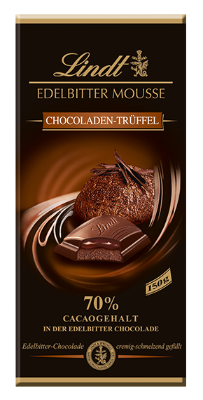 EDELBITTER MOUSSE CHOCOLATE TRUFFLES, 150g