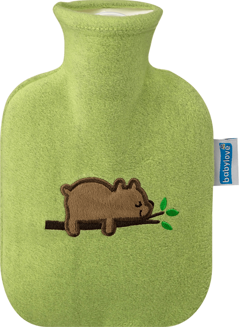 Children's Hot Water Bottle Cover, bear, 1 pc