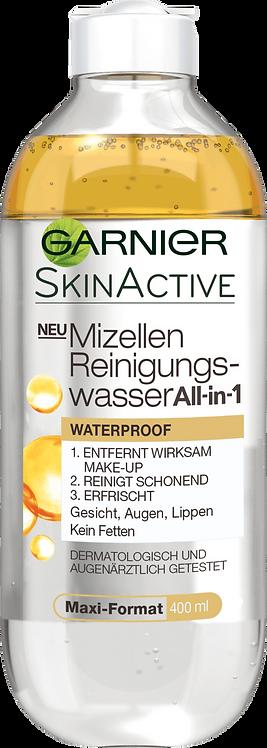 Garnier Micelles Purification Water All-in-One Waterproof, 400 ml