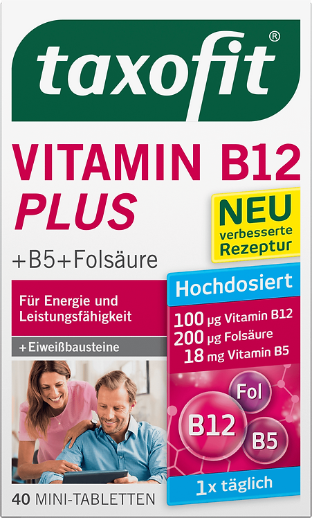 Vitamin B12 Plus 40 Tablets 6,3 g