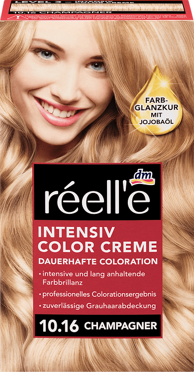 réell'e Hair color champagne 10.16, 1 pc, 1 pc
