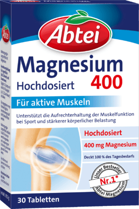 Magnesium 400 Muscle Health Tablets 30 pieces, 39.5 g