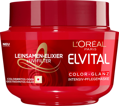 Elvital Hair Mask Treatment Color Gloss, 270 ml