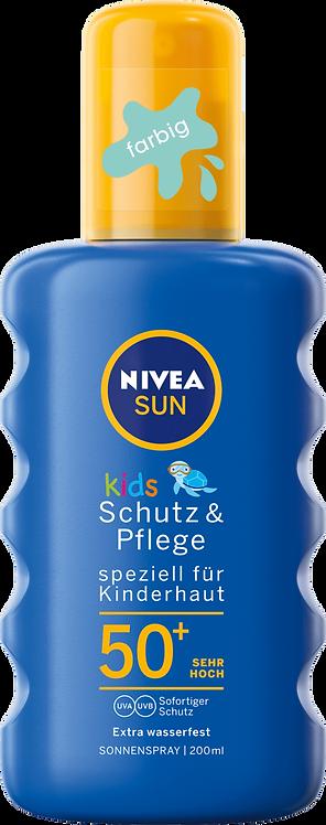 NIVEA SUN Sun Spray Kids Protection & Care SPF 50+, 200 ml