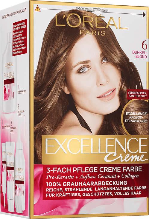 Excellence Coloration Dark Blonde 6, 1 pc