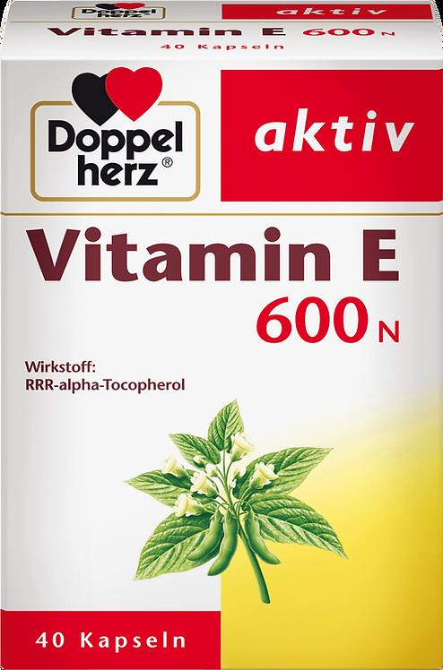 Best Vitamin E 600N capsules, 40 pcs