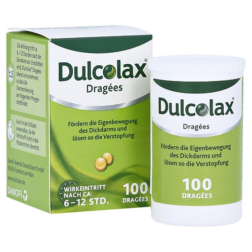 Dulcolax 5mg against constipation overnight - for relief the next morning.