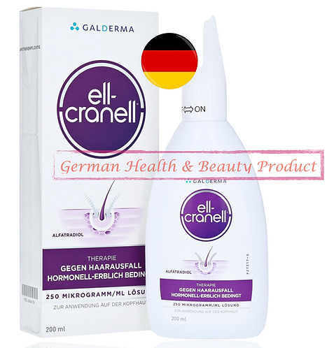 Ell Cranell Alfatradiol Anti Hair Loss Hair Growth Root-Dama 100ml