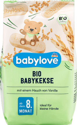 5 Boxes Organic baby biscuit, 125 g