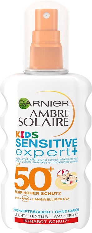 Garnier Sun Spray Sensitive Expert Kids LSF 50+, 200 ml