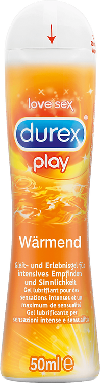 Durex Play Warming Lubricant, 50 ml