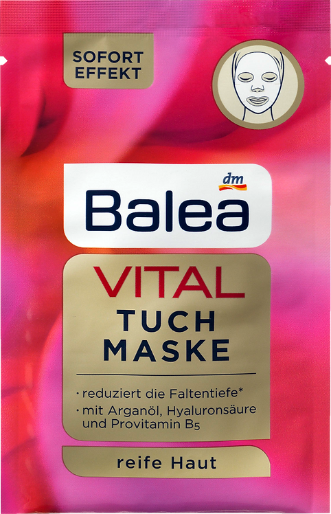 VITAL Cloth Mask with Instant Effect, 1 pc