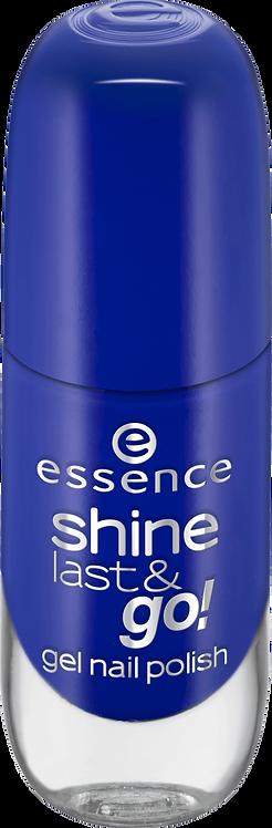 essence cosmetics shine last & go! gel nail polish Blue 31, 8 ml