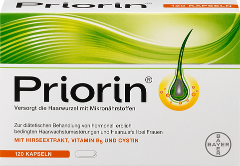 The PRIORIN® Hair Care Capsules Simulate and Increase Hair Growth