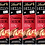 Thumbnail: LINDT HELLO STRAWBERRY CHEESECAKE, 4 Packs,100g