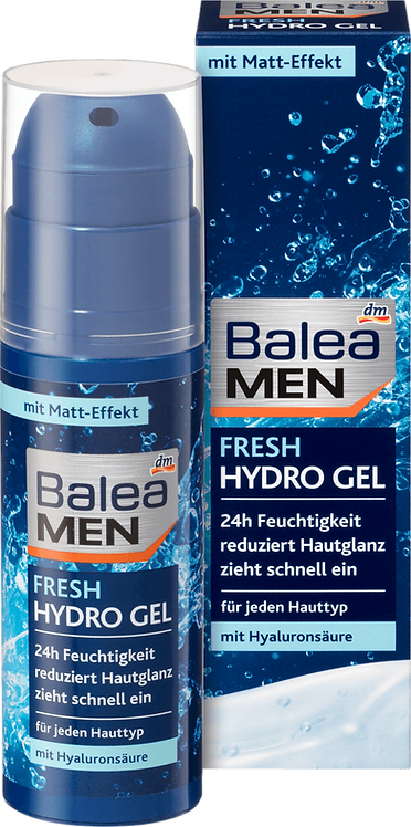 Men Day Care Hydrogel Fresh, 75 ml