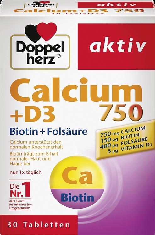 Best Calcium 750 + Vitamin D3 tablets 30 pieces, 66.5 g