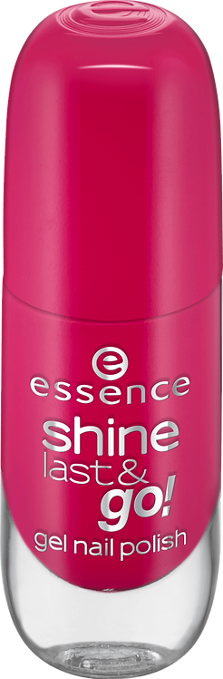 essence cosmetics shine last & go! gel nail polish red 12, 8 ml