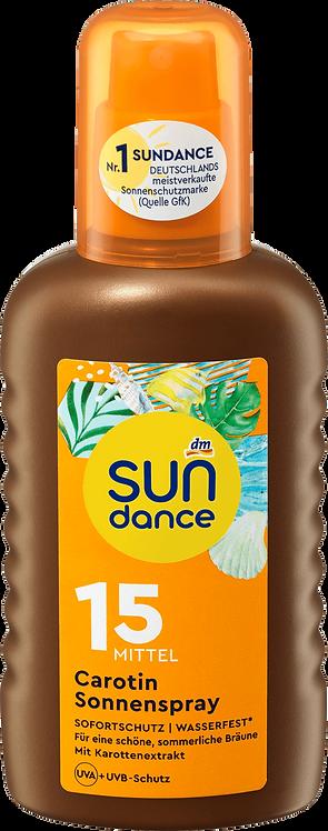Sun Tanning Spray Carotene SPF 15, 200 ml