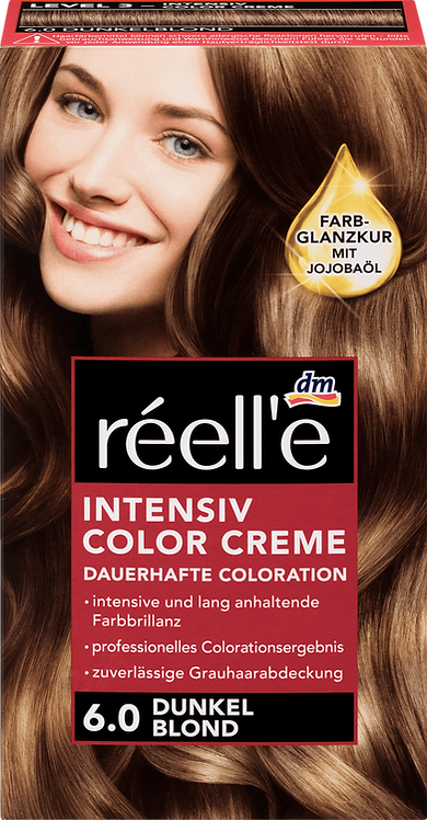 réell'e Hair color dark blonde 6.0, 1 pc