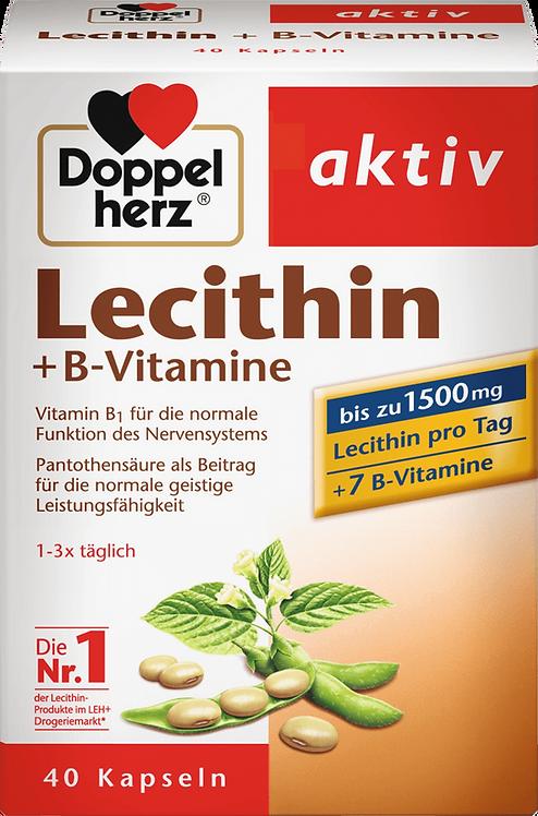 Lecithin + B vitamins capsules 40 pieces, 41.6 g