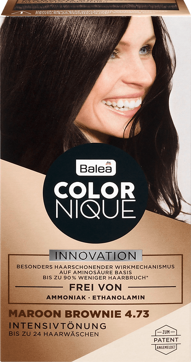 Balea COLORNIQUE Intensive tint Maroon Brownie 4.73, 200 ml