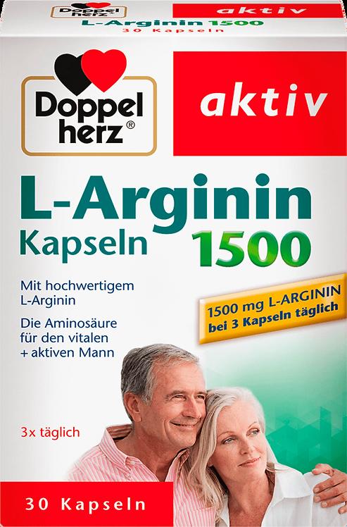 L-arginine capsules 30 pcs, 18.6 g