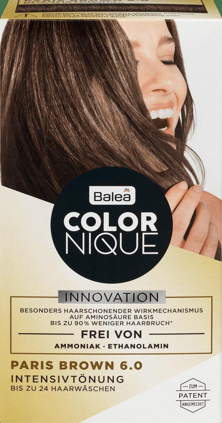 Balea Colornique Intensive Tint Paris Brown 60 200 Ml