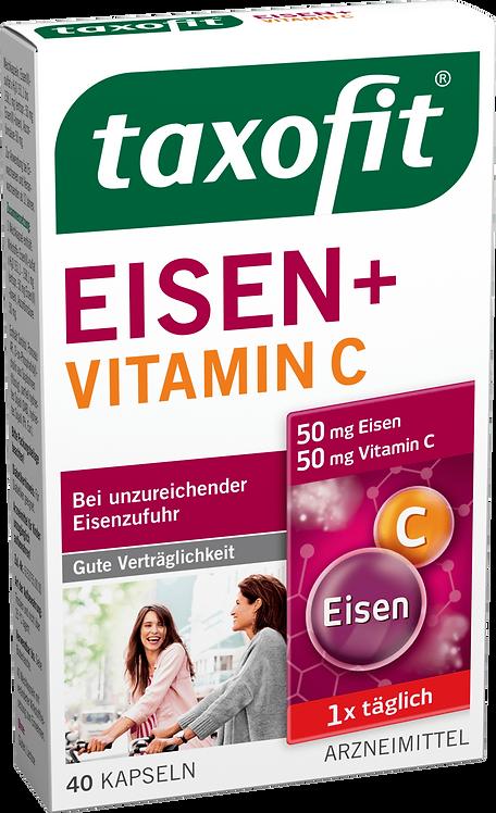 Iron + Vitamin C capsules 40 Tablets