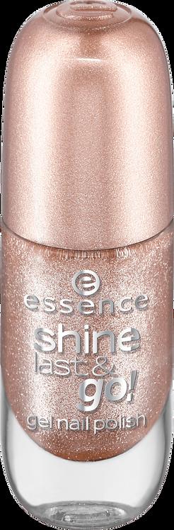 essence cosmetics shine last & go! gel nail polish gold 44, 8 ml