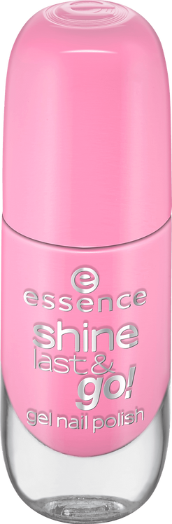 essence cosmetics shine last & go! gel nail polish pink 30, 8 ml