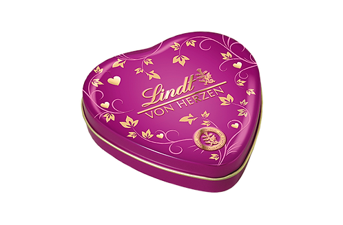 LINDT PREMIUM PRALINÉS GIFTS OF HEARTS BROMBERRY, 30g
