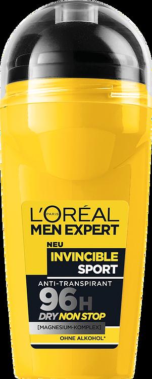 L'ORÉAL Men Expert Deo Roll-On Invincible Sport, 50 ml