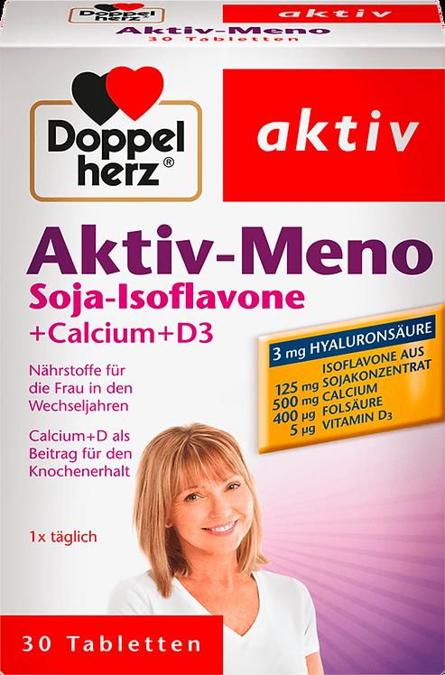 Best Active meno soy isoflavones, calcium, vitamin D3 tablets 30 pieces, 51.3 g