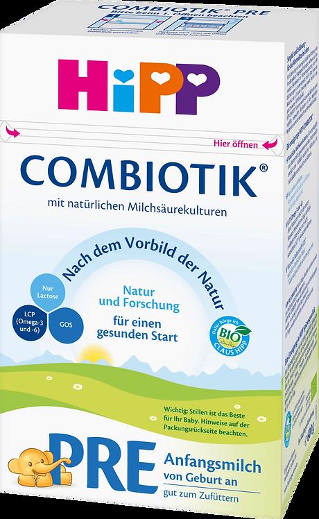 Infant Formula Pre Organic Formula Combiotic from Birth, 600g