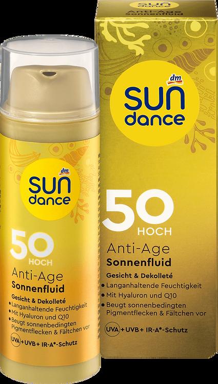 Sun fluid Anti Age SPF 50 UVA + UVB + IR-A Protection, 50 ml